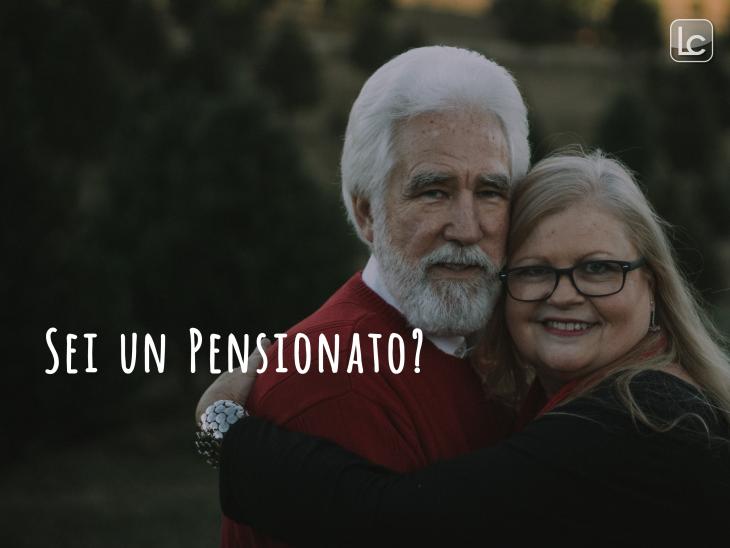 un uomo e una donna pensionati